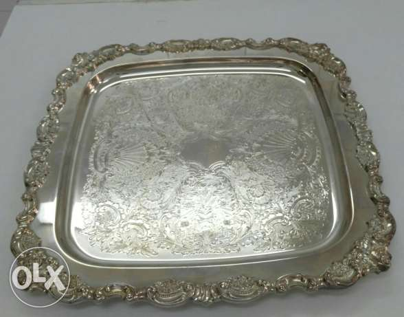 German Silver trays.