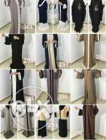 Abayas for only 17 rials