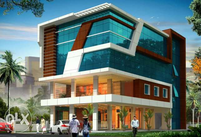 Commercial / office space for rent at Aroor