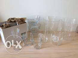 Collection of Glass Tableware