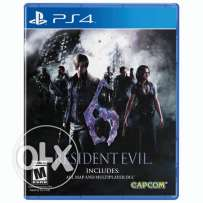 Resident evil 6 for sell 16 rials
