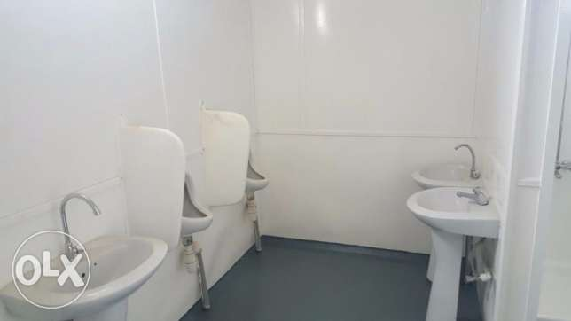 we have very Best Ablution Portacabin for sale in oman مسقط -  3