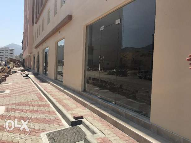 e1 commercial shops for rent in bowsher opposit daulphin village بوشر -  4