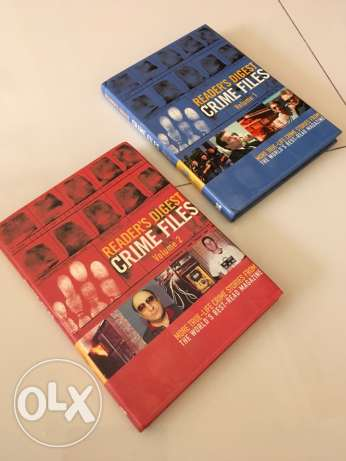 crime Files Volume 1 and 2