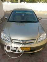 Honda civic 2004 Oman agency wakala From first owner