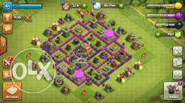 Clash Of Clan TownHall 7 account