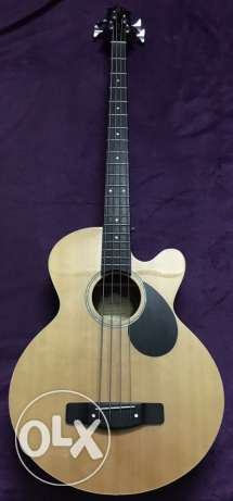 Acoustic Electric Bass Guitar ( Samick )