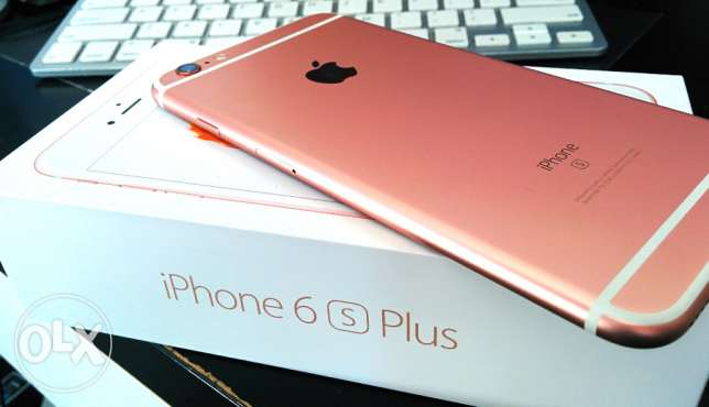 Apple iphone 6s plus 64GB Rose Gold with apple international warranty مسقط -  4