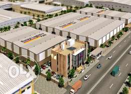 Warehouses in highly demanded commercial area