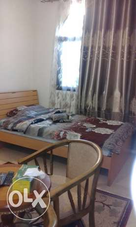 Fully Furnished Room with toilet For Rent In Al Ghubrh