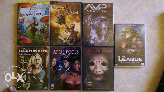 Hollywood Movies for sale(DVD) مسقط -  1