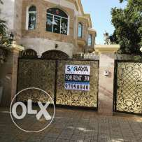 villa for rent in alqurom street