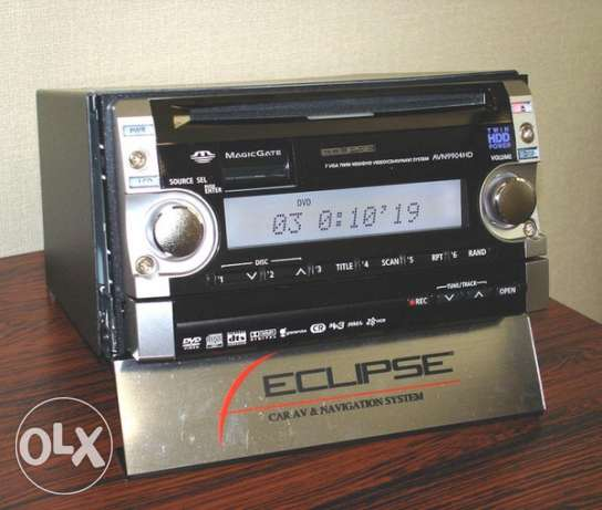 ECLIPSE(Japan) car DVD player for sale السيب -  3