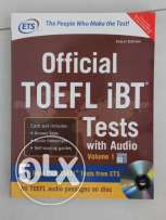 Official TOEFL iBT Tests with Audio on CD Volume 1, BRAND NEW