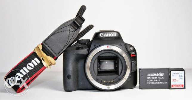 Canon EOS 100D / Rebel SL1 18.0MP Digital SLR Camera - (Body only)