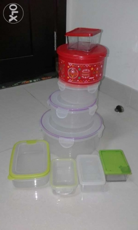 containers 8 pcs
