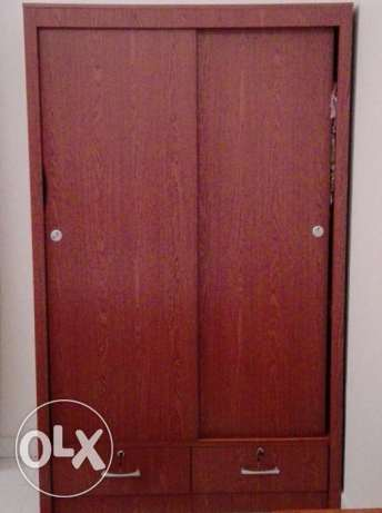 new wardrobe, few months old, perfect condition