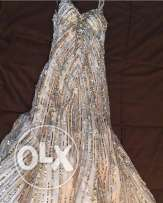 shiny dress in suitable price