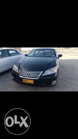 Lexus ES350 sell(black)_short kilometer