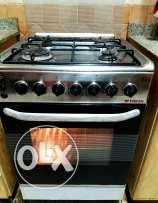 4 burner oven with grill