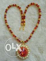 Red Crystal neck chain