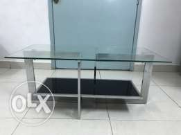 Glass Central Table in excellent condition on Sale