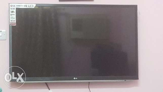 LG 47 INCHES LED TV 47LM5800 3D facility