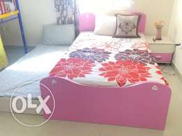 kids bedroom set with study table and sofa for sale in good condition