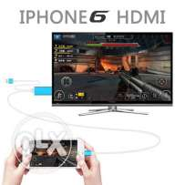 Lighting HDtv cable for Iphone