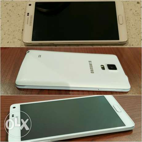 Note 4 with Box and All Accessories New Battery مسقط -  1