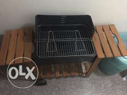BBQ Grill as new, used only once. 35 rials