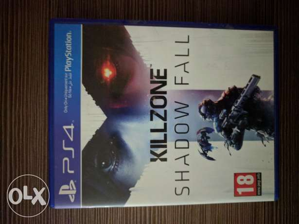 Killzone shadow fall ps4 for sale.