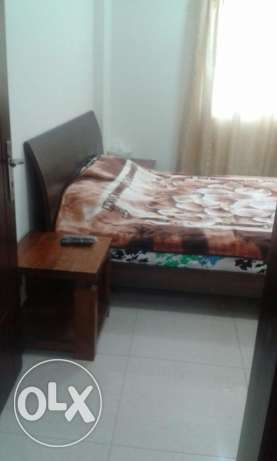 furnished room is available in alghubrah