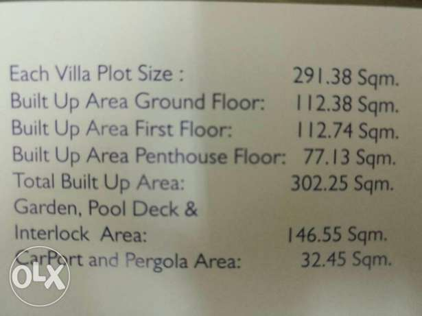 Zia al khod villas for sale السيب -  2