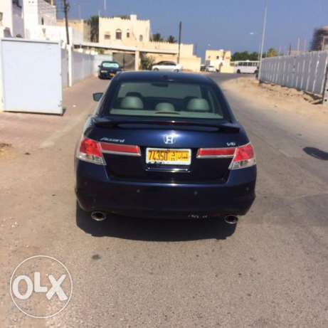 Honda Accord 2012 model V6 The number one slot and skin US imported مسقط -  2