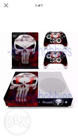 The Punisher sticker for Xbox One