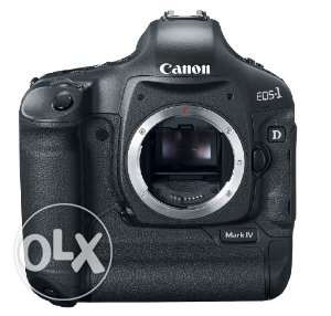 • Canon EOS 1D Mark IV 16.1 MP CMOS Digital SLR Camera with 3-Inch LCD بوشر -  1