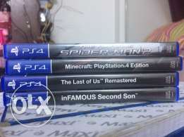 4 top games of PS4 for sale!