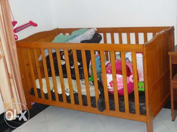 Home Center - Spacious Baby Cot (Almost new)- Urgent Sale