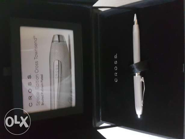 Unwanted gift- special edition platinum cross pen