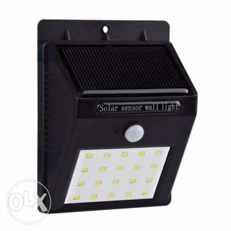 20 LED Outdoor Solar Powered Lights Motion Sensor Lamp