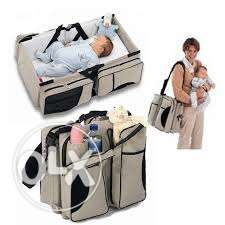 neonates travel bed and bag-2 in 1 مسقط -  1