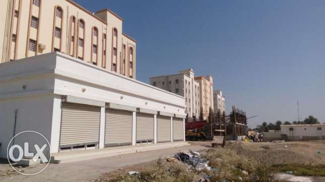 Show room /whare hous for rent in Barka.