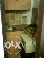 fully furinshed 1 BHK for rent in azeba - 1 bedroom - Hall - - kitche