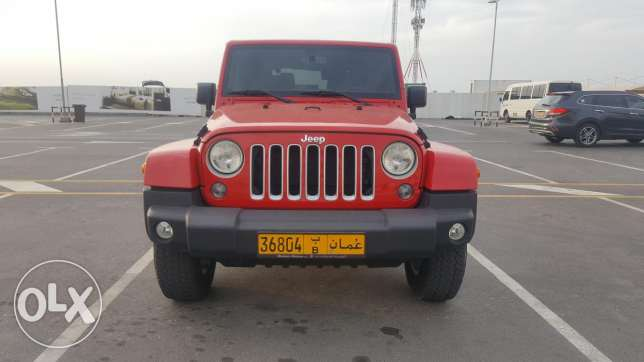 Jeep Wrangler 2016 (price reduced)