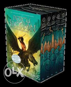 Percy Jackson box set (5 books)