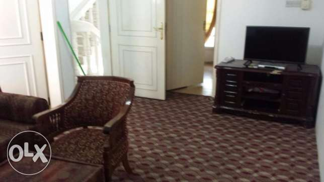 azeba behind sultan center Fully furnished spacious 1 BHK مسقط -  1