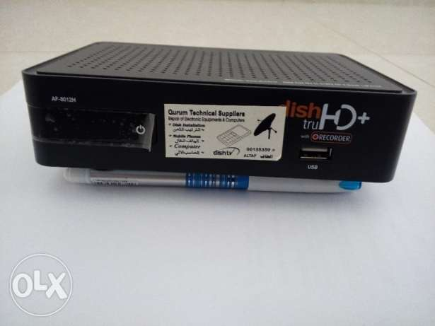 Dish tv Receiver box with antenna مسقط -  2