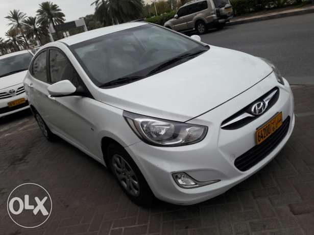 2013 accent 1.6 full automatic Oman agency ...like new بوشر -  8