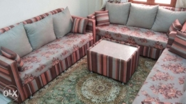 Three Sofa set and in excellent condition for sale